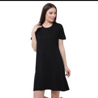 LEMONE T-shirt Dress Wanita Premium