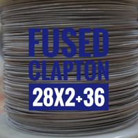 FUSED CLAPTON PER METER BASE NI80 MADE IN SWEDEN 28*2+36