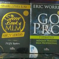 2 Buku Go Pro Eric Worre &The Secret Book Of MLM Leaders