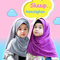 Jilbab bayi anak balita 11-15th / pashmina anak/ Pastan/pasmina XL