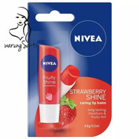 warungSakti - Nivea Fruity Shine Lip Balm Strawberry - 04