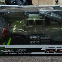 Mainan Mobil Jeep Military Truck R/C Remote Control Murah