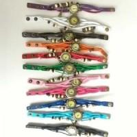 jam-tangan-gelang-kulit-kepang-lilit / braid leather watch