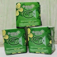 Pembalut herbal Avail pantyliner ( hijau )
