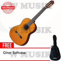 Yamaha Gitar Akustik C390 / C 390 / C-390 - Natural + Softcase