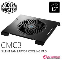 Cooler Master CMC3 Cooling Pad Silent Fan Kipas Laptop Notebook J411
