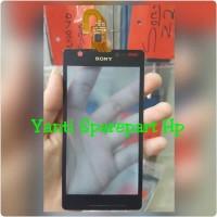 Touchscreen Sony Xperia ZR Original - Hitam