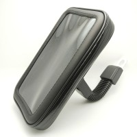 WaterProof Motorcycle Bike Handlebar Mount Case Untuk iPhone 7