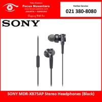 SONY MDR-XB75AP Stereo Headphones (Black)