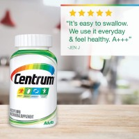 Centrum Adult Multivitamin Multimineral Vitamin D3 200 Tablet