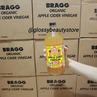 BRAGG organic apple cider vinegar cuka apel full size 946 ml