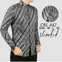 Baju batik Slimfit Pria