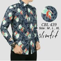 Baju batik Slimfit