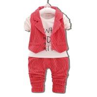 Baju Setelan Rompi Anak 3 in 1 Lucu Murah Import