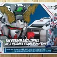 The Gundam Base Limited - RG RX-0 Unicorn Ver TWC