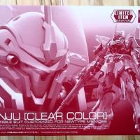 The Gundam Base Limited - RG Sinanju Clear Color