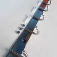 Kapstok Stainless 7 Kait Hanger Gantungan Baju Pakaian Dinding Pintu