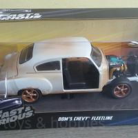 diecast fast furious fleetline doms chevy classic car movie 1-24 jada