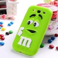 Samsung Galaxy J3 M&M Chocolate Rubber Soft Tpu Case 3d Cute Cover