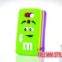 LG G5 M&M Chocolate Rubber Soft TpuCase 3d Cute Cover Softcase Silikon