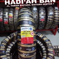 Ban Belakang Motor Matic Corsa Platinum R99 100/80-14 + pentil