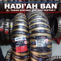 Ban motor sport sepasang corsa platinum R93 120/60-17 + 150/60-17