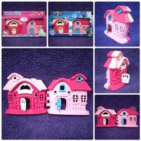 VILLA KU KARAKTER 2 SISI - Mainan rumah-rumahan imajinasi anak