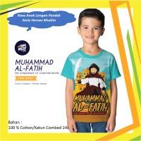MH 02 Model Baju Pakaian Kaos Anak Seri Pahlawan Muslim Terbaru Ammar