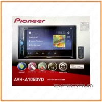 Pioneer AVH-A105 DVD - TV Double DIN Pioneer Avh105 - Headunit Monitor