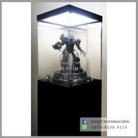 lemari rak pajang kaca statue prime1 xm studios transformers