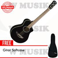 Yamaha Gitar Akustik Elektrik (3/4) APX T2/ APXT2 - Hitam + Softcase