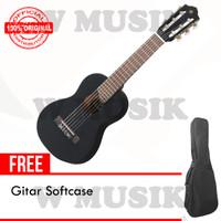 Yamaha Gitar Mini GL-1 / GL1 / Guitalele - Hitam + Softcase