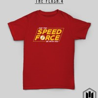 Kaos Superhero DC The Flash 4 May The Speed Force Be With You