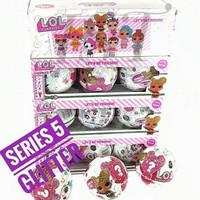 Mainan LOL Surprise Glitter Series ukuran besar/ egg surprise