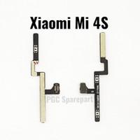 Original Flexible Konektor Volume Power On Off Xiaomi Mi 4S - Mi4S