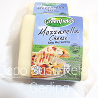 Keju Mozzarella Greenfields 200gr | Cheese Greenfield Pizza Maker 200