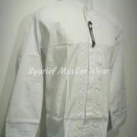 Baju Koko Lengan Panjang High Quality - Ressy / Syahdika Jumbo