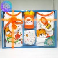 Baju Bayi Baru Lahir / Baby Newborn Gift Set Motif Cat / Hadiah/ Kado