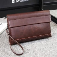 Clutch pria handbag cowok import kulit - MB0623