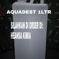 AQUADEST / AQUADES / AKUADES 1 LITER