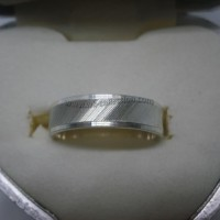 Cincin Perak 925 Single Model CK8