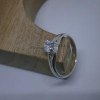 Cincin Wanita-Simple Elegan-Perak 925 (seri RL002)