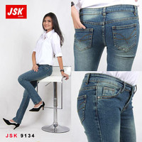 Celana Cutbray Jeans Wanita SIZE 28-30 Celana Denim Bootcut Basic JSK
