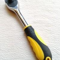 Stang Kunci Sok Socket Ratchet Kecil Reversibel/Reversible
