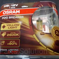 Bohlam Lampu OSRAM H8 Fog Breaker FBR 12V 35W Original