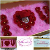 tempat kotak box cincin kado unik ultah birthday anniversary