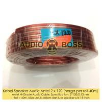 Kabel listrik Speaker HiGrade Audio Antel 2 x 120 2x120 1 roll 40m 50y