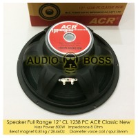 Speaker Full Range 12 12in 12 inch ACR 1238 CL PC ACR Classic Line New