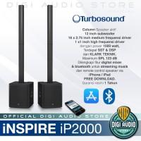 Speaker Column Aktif TURBOSOUND iNSPIRE iP 2000 Sound System Portable