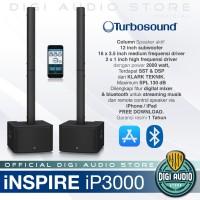 Speaker Column Aktif TURBOSOUND iP 3000 - Sound System Portable